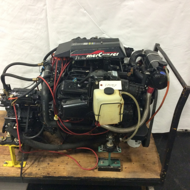 Mercruiser 5.7 Mag MPI Engine