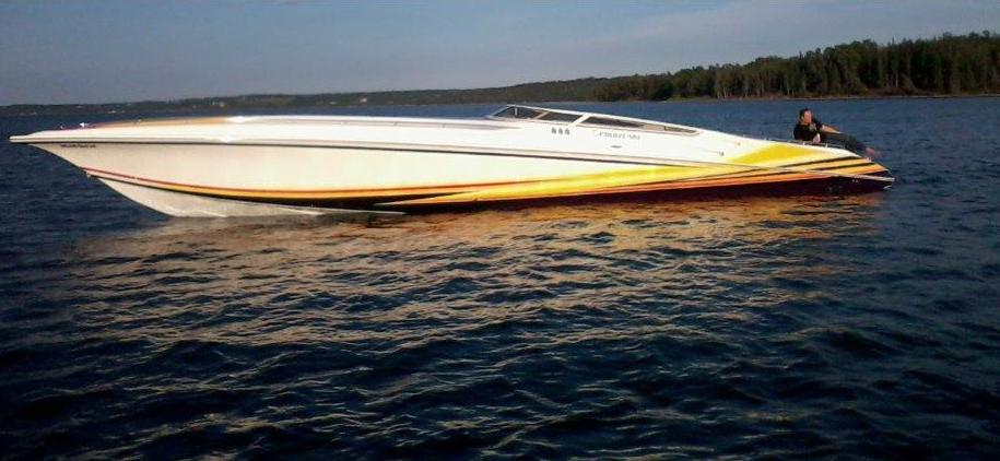 2005 fountain 47 lightning incoming boats for sale price