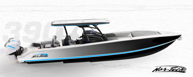 2019 Nor-Tech 390 Sport Hull Number 208