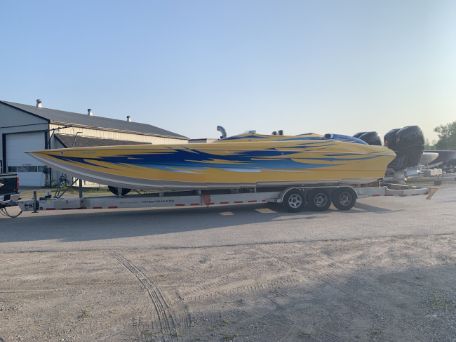 2005 Nor-Tech 3600 Supercat with Quad 400R